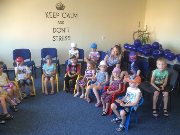 Ucząca się grupa dzieci