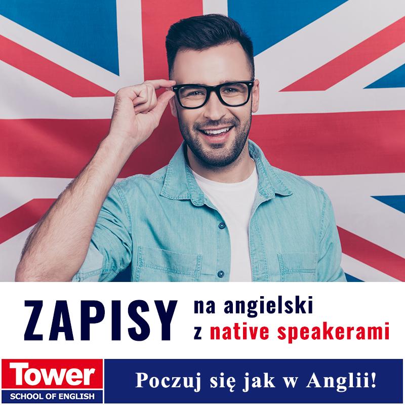 Tower zapisy na angielski z native speakerami